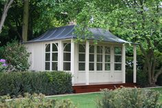 Custom Chelase With Veranda Lead Roof, Bespoke, Gazebo, Shed, Outdoor Structures, Places, Garden, Cottages, Room Ideas