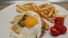 Olasz sertéskaraj sonával, tükörtojással Eggs, Cooking, Breakfast, Food, Kitchen, Morning Coffee, Essen, Egg, Meals