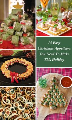 11 Best Holiday Appetizers Easy Christmas Images Food Savory