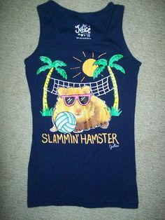 Girls Blue sz 10 Justice 'Slammin Hamster' Tank Top   eBay