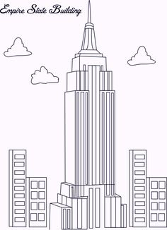 empire state building coloring pages free online printable coloring pages sheets for kids get the latest free empire state building coloring pages images - Apartment Building Coloring Pages