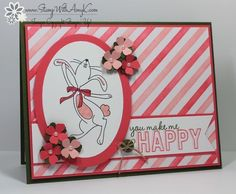 Happy Easter Bunny - Stampin' Up! - Stamp With Amy K - You make me happyg.
