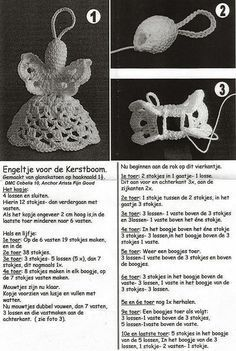 Christmas Angels hooks Site is German so you Will need a translatorCrochet Angel, have to get pattern translated but way Most Festive DIY Decoration Ideas For Christmas - SalvabraniDIY - zrób to sam na Stylowi.Glad I knit: Angels Crochet Christmas Ornaments, Crochet Snowflakes, Christmas Crafts For Gifts, Angel Ornaments, Christmas Angels, Thread Crochet, Filet Crochet, Crochet Crafts, Crochet Lace