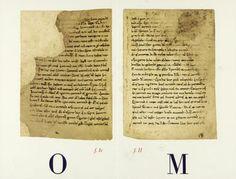 Cent anys, cent peces. L'any 1913 ingressen a la Biblioteca les Homilies d'Organyà, el text literari en prosa catalana més antic, de finals del segle XII