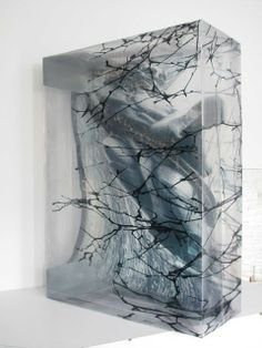 LENA HENKE Parkchester Series 5, 2014  Silver gelatine print on duraclear 36 × 26 × 11 in 91.4 × 66 × 27.9 cm Galerie Parisa Kind