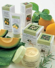 Young Skin  - Peach & Orange Blossom Face Cream: For young skin moisturising & toning           - Lemon & Cucumber Cream for Oily & Blemished Skin: With a light covering effect      - Burdock & Rosemary Face Cream for Blemished Skin      - Hawthorn Face Cream: Night treatment for oily & blemished skin