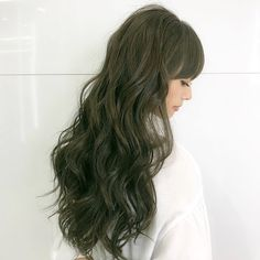 Ash Green Hair Color, Ombre Hair Color, Iu Hair, Dye My Hair, Spring Hairstyles, Pretty Hairstyles, Olive Hair, Long Hair Highlights, Hair Up Styles