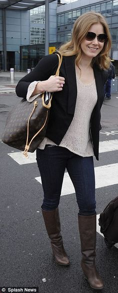 Amy Adams: Airport Chic!