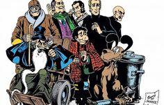 Alan Ford, Bob Rock, Illustrations, Vintage Comics, Daredevil, Bunker, Graphic, Cyberpunk, Cinema