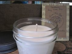 Southern Key Lime Pie Soy Candle Natural Soy Wax by gracenotegifts, $6.00