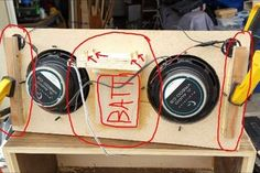 DIY BEST Bluetooth Speakers : 8 Steps (with Pictures) - Instructables Speaker Box Diy, Diy Bluetooth Speaker, Diy Speakers, Audio, Fujifilm Instax Mini, Pictures, Seals, Wood Projects, Woodworking
