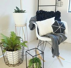 www.anikamay.co.uk | ig & pinterest: @itsanikamay Living Room Goals, My Living Room, Home And Living, Kmart Home, Bedroom Nook, Home Decor Hacks, Salon Ideas, Minimalist Interior, Occasional Chairs