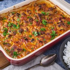 Aesthetic Food, Lasagna, Chili, Brunch, Food And Drink, Soup, Meals, Dinner, Cooking