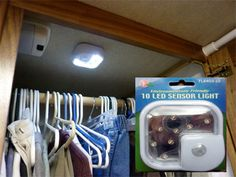 Motion light perfect for RV applications