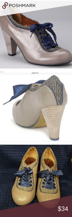 Poetic License Attraction New Bone Pump Heel Open Toe Size 7.5 M