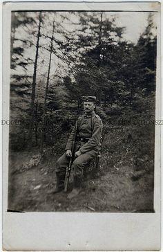 prima guerra mondiale Soldato ritratto col suo fucile    #TuscanyAgriturismoGiratola