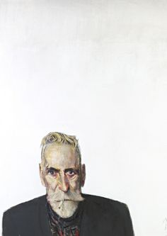 Self Portrait on White, 2012 by John Byrne on Curiator, the world's biggest collaborative art collection. Selfies, Art Alevel, John Byrne, Digital Museum, Art Society, Collaborative Art, Portrait Inspiration, Comic Artist, Fine Art Gallery
