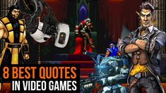 8 best quotes in video games  #Games