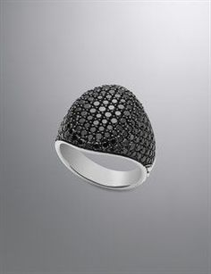 David Yurman Men's Rings | Black Diamond and Onyx Rings for Men