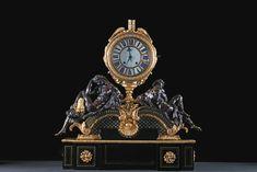 La Gazette Drouot - Attribuée à André-Charles Boulle (1642-1732) et son atelier… Le Bristol, As Time Goes By, Objet D'art, Big Ben, Clocks, Bronze, Paris, Antiques, Watches