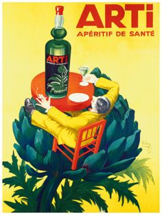 So it's artichoke-flavored. Will it get me plastered? Then start pouring!
