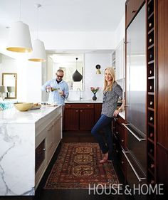 Suzanne Dimma and Arriz Hassam approached their kitchen renovation in phases. | Photographer: Angus Fergusson Designer: Suzanne Dimma and Arriz Hassam