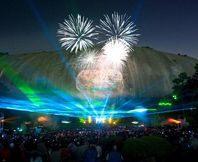 Catch the Lasershow Spectacular at Stone Mountain Park!