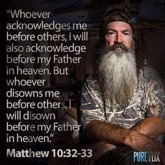 Amen Phil! #duckcommander