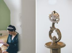 Detail and candid shots for a wedding at the Inn at New Hyde Park. Captured by NYC wedding photographer Ben Lau.
