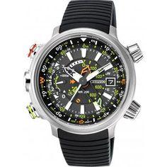 Citizen Mens Promaster Multi Sport Eco-Drive Silver Watch BN4020-05E - Citizen from British Watch Company UK