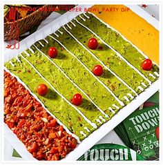 football party dip - perfect for the super bowl!