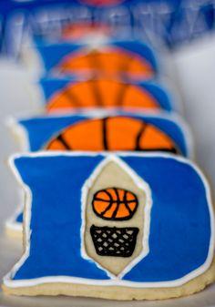 Still love some Duke basketball:-) pinning this for the Duke fan in our house!