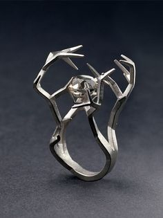A wedding dress for the nuptials between myself and Jon Snow.  Thorn ring by PETRONELLA ERIKSSON-SE