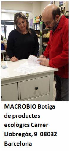 MACROBIO Botiga de productes ecològics Carrer Llobregós, 9  08032 Barcelona