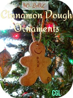 Crafty-Go-Lucky   Cinnamon Dough Ornaments (No Bake!)   super easy and smell amazing!