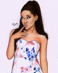 @arianagrande for @lipsylondon  // pls tag her and follow my personal @felipegoca if u want