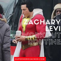Zachary Levi Workout Routine and Diet Plan: Chuck, Fandral in Thor, and even our Shazam! Zachary Levi Workout Routine and Diet Plan: Chuck, Fandral in Thor, and even our Shazam! Bikini Competition Prep, Fitness Competition, Hero Workouts, Easy Workouts, Muscle Fitness, Mens Fitness, Gain Muscle, Muscle Men, Build Muscle