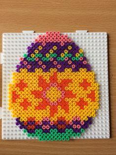 Easter egg hama perler beads by Camilla Merstrand
