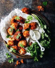 Buffalo Style Cauliflower Bites With Sriracha And Sambal Oelek Glaze And A Garlic Mayo Dipping Sauce via @feedfeed on https://thefeedfeed.com/cauliflower/foodgays/buffalo-style-cauliflower-bites-with-sriracha-and-sambal-oelek-glaze-and-a-garlic-mayo-dipping-sauce