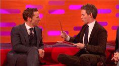 Watch Eddie Redmayne and Benedict Cumberbatch Do Magic for Bryan Cranston