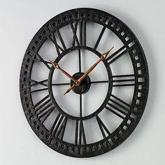 Chaney Wall Clock For The Kitchen ♡  Use coupons BBQ30 & JUNE4MVC   To get it for $30.33 #shoponabuget
