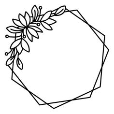 Embroidery Flowers Pattern, Embroidery Patterns Free, Hand Embroidery Designs, Bullet Journal Ideas Pages, Cricut Creations, String Art, Doodle Art, Hexagon Tattoo, Hexagon Logo