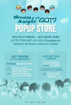 GOT7 POPUP STORE GOT7 팬사인회 EVENT & SNS EVENT