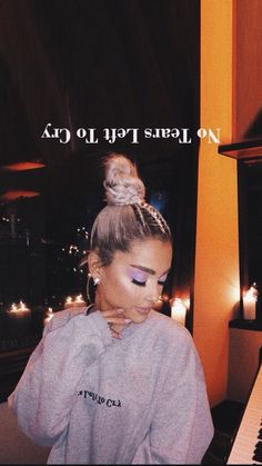 I love my fans And did you see a new song? (No Tears Left To Cry)