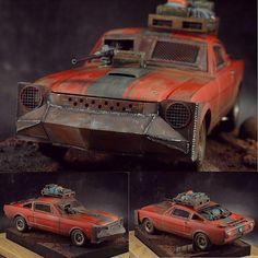 '66 Ford Shelby Zombie Hunter 1/24 Revell diorama. Modeler megazord_man #scalemodel #plastimodelismo #plasticmodel #plastimodelo #miniatura #miniatur #miniature #maqueta #maquette #modelismo #modelism #modelisme #miniature #hobby #diorama #revell #usinadoskits #udk #ford