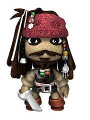 LittleBigPlanet Captain Sack Sparrow