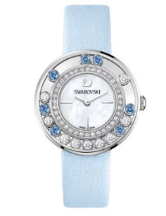 Reloj azul cielo para ella #relojes #mujeres #juvenil #swarovski