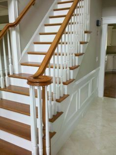 Posts, Railings And Light Oak On Pinterest