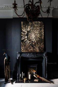 Abstract gold print wall decor abstract black home decor large canvas art gifts for him wall art abs, Home Decor, Living Room Wall Art Large Contemporary Painting Modern Art Paintings Artwork Canvas Art Prints Canvas Art Wall Art