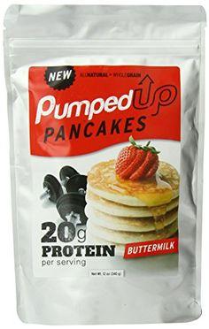 Pumped Up Pancakes Mix, Buttermilk, 12 Ounce Pumped Up Pancakes http://www.amazon.com/dp/B00JSKDZZ0/ref=cm_sw_r_pi_dp_2r06ub06FC7QM